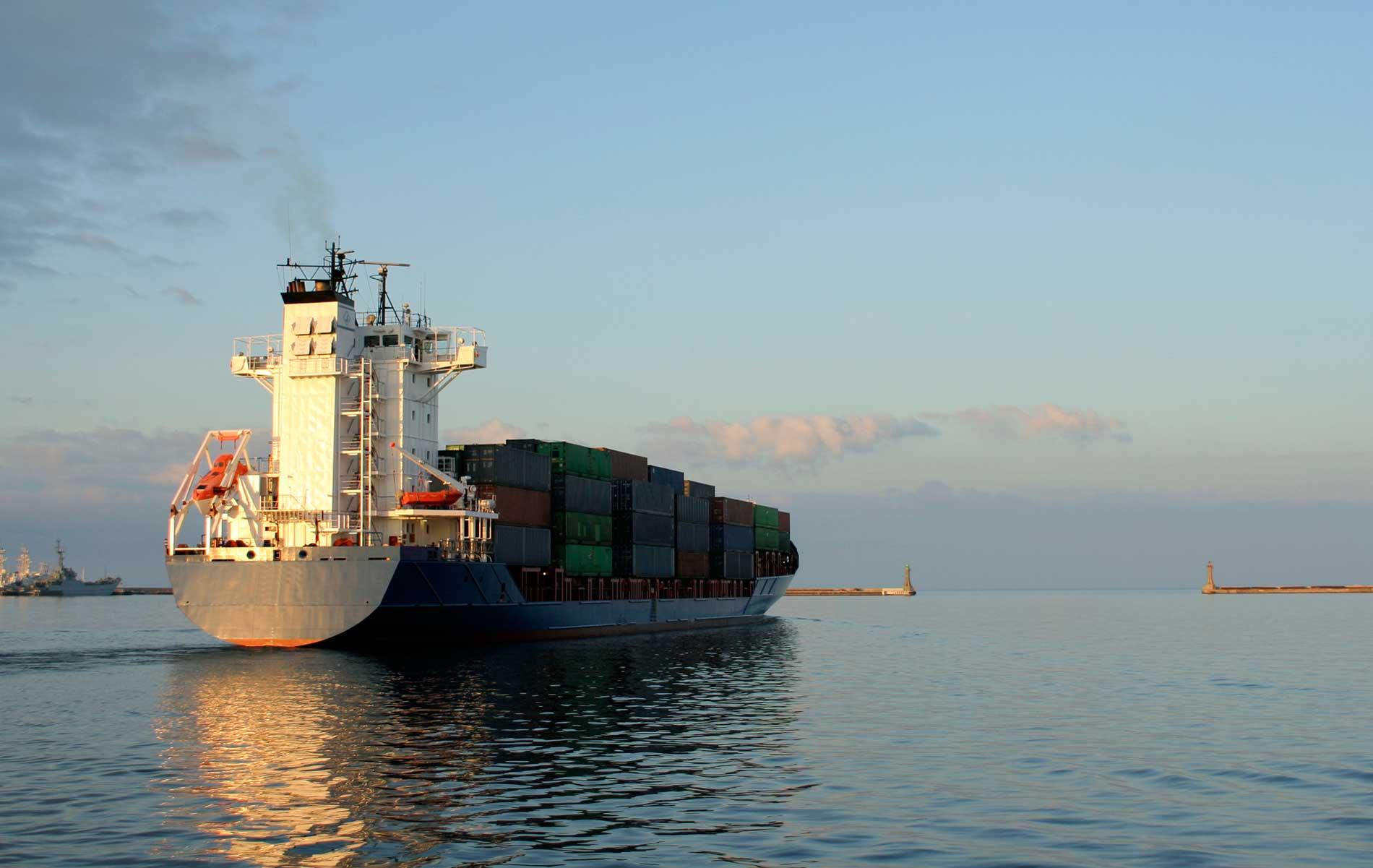 trasnporte maritimo